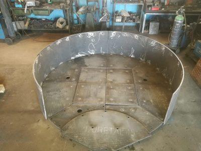 carpenteria - realizzazione vasche cementificio